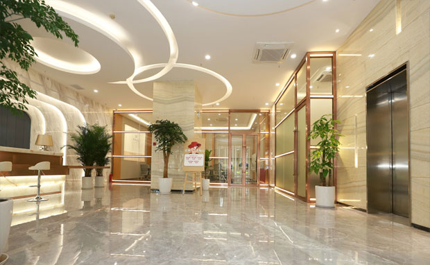 广州积美医疗美容门诊部大厅环境