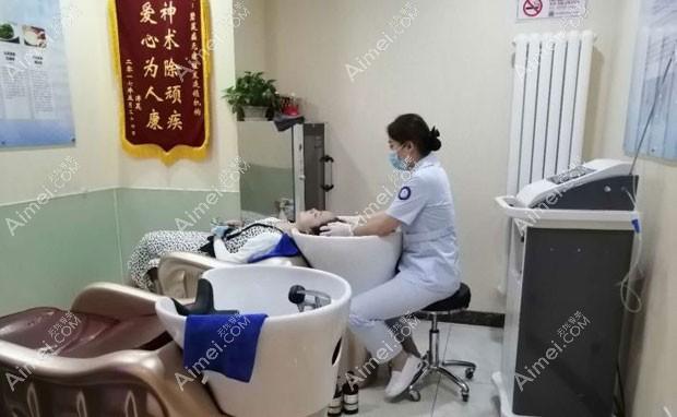 北京碧莲盛医疗美容门诊部术后洗头服务